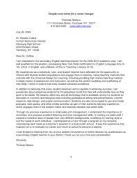 cover letter format for teachers free