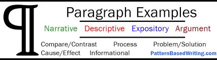 Simple 5 Paragraph Essay Examples Paragraph Examples Narrative Persuasive Descriptive And