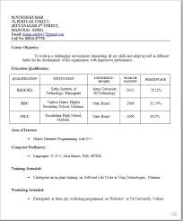 Simple Resume Format Delectable Image Result For Simple Biodata Format For Job Fresher Bio In 60