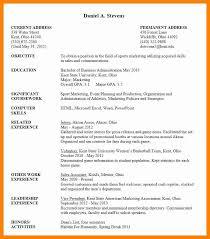 Academic Resume Template Word Luxury College Student Resume
