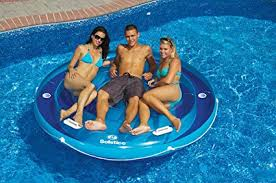 pool round raft.  Raft 84u0026quot Solstice Inflatable Round Jumbo Island Swimming Pool Raft Lounger Intended Amazoncom