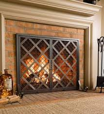 Unique fireplace screens Tree Mccormick Celtic Fireplace Screen Plow Hearth Mccormick Celtic Fireplace Screen Plowhearth