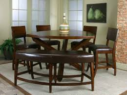 Dining Room Tables With A Bench Simple Inspiration Design