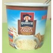 quaker avena canela instant oatmeal nutrition grade b minus 180 calories