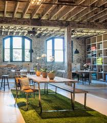 warehouse office space. the design chaser urban couture warehouse conversion interview office space