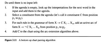 Bottom Up Chart Parser Adding Active Arc Step Computer