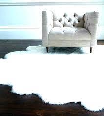 fur rug big white furry rug fluffy fancy area best large black and
