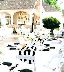 elegant black and white wedding black and white table settings elegant black and white wedding table