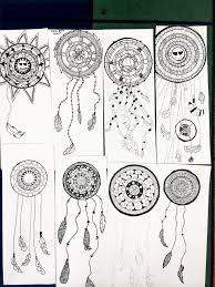 How To Draw A Dream Catcher smART Class Dream Catchers Matikka Pinterest Smart class 27