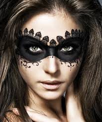 unfortable mask create one out of makeup with black liner and eye shadow this is a gorgeous look for your labyrinth esque masquerade