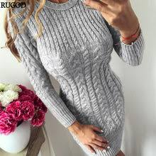 Best value 2019 <b>Spring and Autumn New</b> Slim Dress – Great deals ...