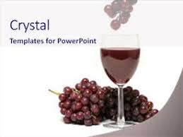 Wine Powerpoint Template 5000 Grapes And Red Wine Powerpoint Templates W Grapes And Red