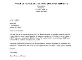 Employment Verification Letter Letter Of Employment