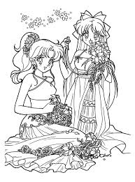 Sailor Moon Coloring Pages Fancy For Boys Princess Serenity 1140