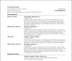 Google Resume Builder Unique Extracurricular Activities Resume Template The Google Resume From