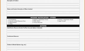 Incident Report Sample Security Guard Customer Incident Report Form
