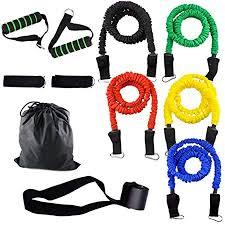 Soulitem <b>11Pcs</b>/<b>Set Resistance Bands</b> Cloth Cover Fitness Pull ...