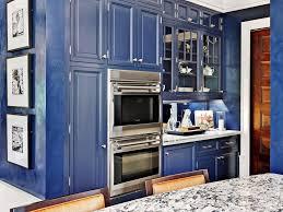 Dark Blue Kitchen Cabinets Popular Blue Kitchen Cabinets Ideas Kitchen Bath Ideas