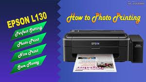 How To Photo Print Epson L130 Smoth Photo Print Youtube Epson L130 Printer Price In Sri Lanka L