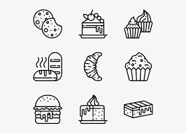 Bakery Cosmetic Icons Png Image Transparent Png Free Download On