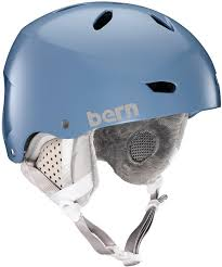 Bern Womens Helmet Size Chart Bern Brighton Eps Womens Winter Snowboard Helmet S Satin Atlantic