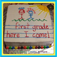 Kindergarten Graduation Cake Saw This Idea Here On Pinterest And