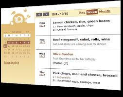 online meal calendar free meal planning calendar and ideas say mmm
