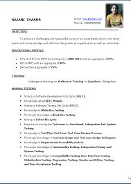 Gallery Of 12 Simple Resume Format Resume In Pdf Format Pdf