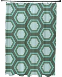 dark teal shower curtain. e by design large honeycomb geometric pattern shower curtain (dark gray and light gray) dark teal o