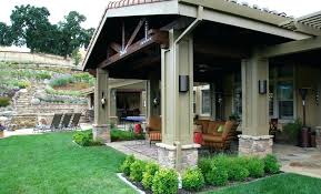 cost to build covered patio aluminum porch roof style intended for plans 16