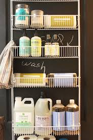 20 diy laundry room projects door organizer chalkboard