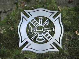 fire fighter maltese cross metal wall art on maltese cross firefighter metal wall art with fire fighter maltese cross metal wall art cascade manufacturing