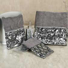 Decorative Bathroom Accessories Sets Black And Silver Bath Sets hotcanadianpharmacyus 36