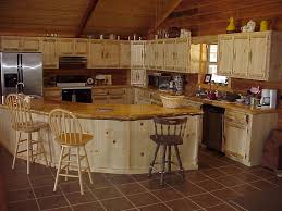 Cabin Kitchens Small Kitchen Design Ideas White Tile Backsplash Country Cottage