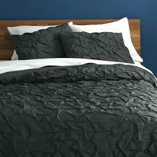 grey textured duvet cover dark gray duvet cover carbon bedding throughout black grey duvet cover designs