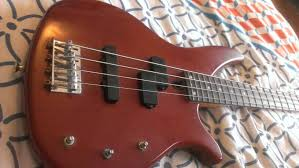 guitar pickups in a bass rbx 360