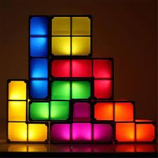 Buy Tetris Light Tetris Table Lamps Diy Tetris Lamp Stackable Puzzle