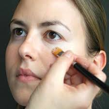 use a concealer stick to cover up any blemishes you may have although clear skin is a must with the pin up style everyone gets blemishes and so long as