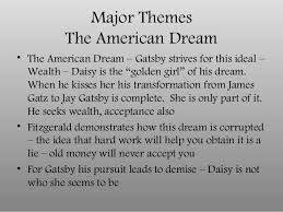 The Great Gatsby Quotes About The American Dream