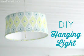 diy hanging lamp shade you can make a simple inexpensive hanging pendant for any room in