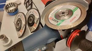 <b>Bosch</b> показал новую систему крепления оснастки для «болгарки»