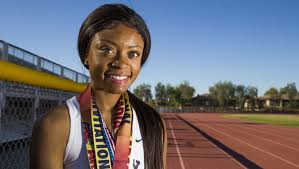 Phoenix Mountain Pointe's Autumn Smith focuses for Division I girls track  and field state championships