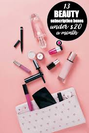 13 beauty subscription bo under 20 a month one for yourself or give away