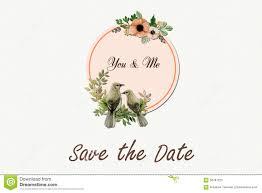 Birds Logo Wedding Stock Photo Image 58787225