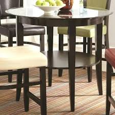 glass top pub table round glass top pub table coaster furniture glass pub table glass top