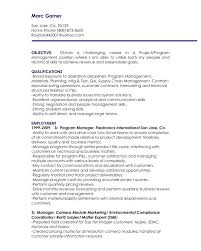 resume objectives for managers resume career objectives on a resume