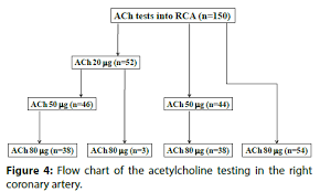 Ach Flow Chart Acetylcholine Coronary Spasm Provocation Testing