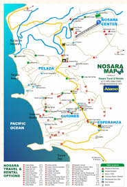 Nosara Travel Costa Rica Map Of Nosara And Lodging