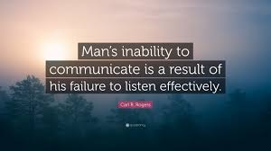 """S Quote Enchanting Carl R Rogers Quote """"Man's Inability To Communicate Is A Result Of"""