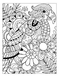 Stress Relief Coloring Pages Flowers Christmas Animals Books Book